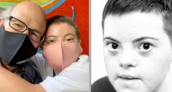 A filha com síndrome de Down se forma com as melhores notas: as palavras de seu pai são cheias de orgulho