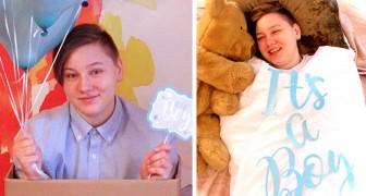 Mutter organisiert Gender-Reveal-Fotoshooting für Trans-Sohn: Aufnahmen sind einzigartig