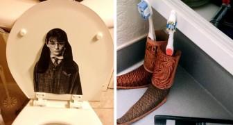 Was findet man in einer Männertoilette? 15 Frauen teilten die unerwarteten und urkomischen Antworten
