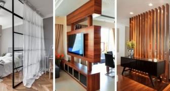 Cloisons : inspirez-vous de ces 12 astuces pour les installer à la maison et réorganiser l'espace