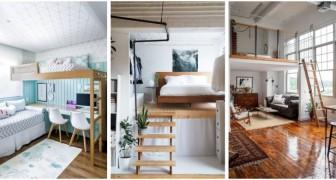 Letto a soppalco: la soluzione ideale per arredare con stile e fare spazio nelle stanze più piccole