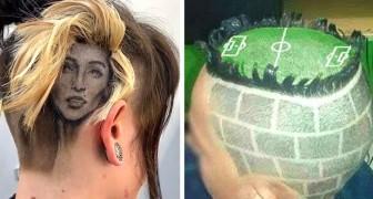 Unübersehbar: 20 gewagte Haarschnitte, die von Menschen stolz getragen werden