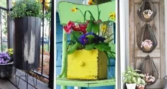 Jardinières à l'entrée de la maison ? Inspirez-vous de ces magnifiques idées pour décorer