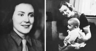 Den här modiga kvinnan räddade mer än 150 judiska barn under förintelsen genom att låtsas att de var hennes