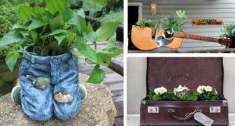 Jardinières créatives ? Découvrez comment les créer en transformant de vieux objets