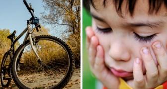 """Vater bestraft seinen Sohn, indem er ihn glauben lässt, dass sein Fahrrad gestohlen wurde: Seine Frau sieht ihn an, als wäre er ein """"abscheuliches Monster"""""""