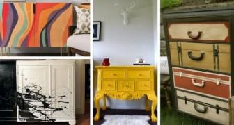 Stanchi dei vecchi mobili? Scoprite come trasformarli con una mano di pittura
