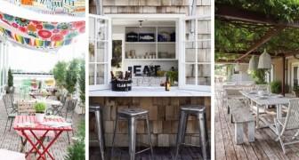 Angolo pranzo all'aperto: lasciati ispirare da queste splendide idee per allestire spazi da sogno