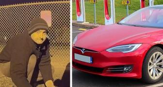 Un'auto Tesla aiuta la polizia a catturare un uomo che aveva commesso vari crimini a sfondo razzista