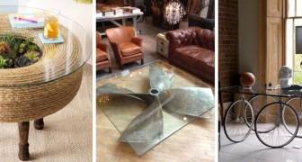 Tavolini super-creativi: scopri qualche idea per realizzarli con tanti oggetti di scarto