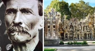 Un postino spese 33 anni della sua vita a costruire un palazzo fiabesco con la forza delle sue sole mani
