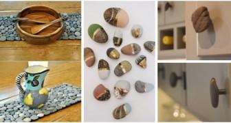 Decorazioni adorabili e complementi d'arredo utili: scopri in quanti modi creativi puoi riciclare i sassi