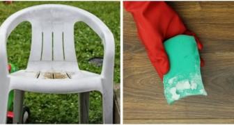 Chaises et tables de jardin en plastique : retrouvez-les comme neufs avec ces astuces très simples