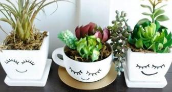Usa le piante succulente per decorare in modo creativo la casa e il giardino: 13 idee strepitose