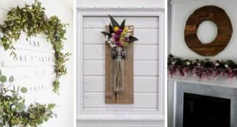 Decorazioni rustiche fai-da-te: aggiungi un delizioso tocco artistico alle pareti con queste idee creative