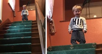 I wouldn't let him to jump down the stairs: 17 capricious children cry for the most absurd reasons