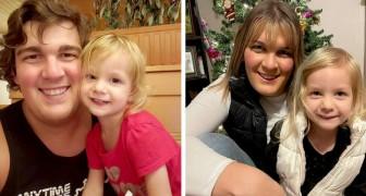 Aos 30 anos ela se torna uma mulher e sua filha de 3 anos o aceita pelo que ele é: Você é linda