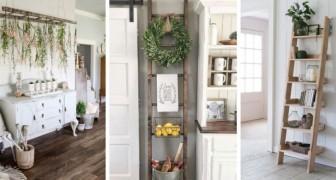 Scale a pioli: scopri come usarle per decorare con gusto qualsiasi stanza di casa