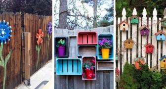 Murs de clôtures tristes ? Décorez-les de façon créative avec ces idées DIY