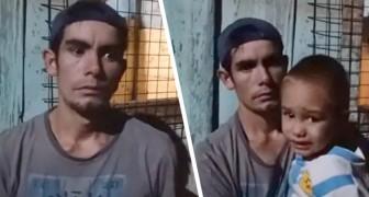 La mujer abandona a la familia y se ve obligado a criar solo a sus 4 hijos: el grito de ayuda de un papá indigente