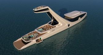 Questo super-yacht con cabina sopraelevata è un vero paradiso galleggiante di lusso e comfort