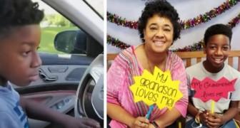Il nipote di 11 anni guida la macchina della nonna che si era sentita male e la porta in salvo