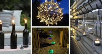 Giardino da illuminare? Scopri le migliori soluzioni fai-da-te per fare luce in modo magico