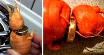 Un anciano encuentra su anillo de bodas en una zanahoria, después de 3 años: su huerta le ha devuelto el fruto más preciado