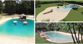 Trasforma il tuo giardino in una spiaggia esotica con le piscine di sabbia resinata: scopri le idee