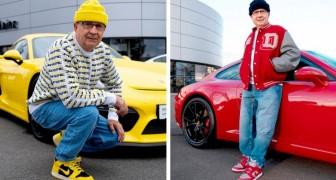 Nonno di 75 anni indossa abiti fashion e dimostra al mondo che non esiste età per sentirsi giovani e alla moda