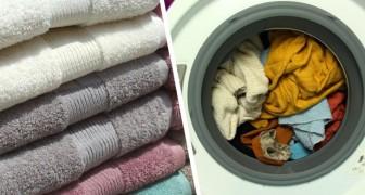 Asciugamani che puzzano? Qualche trucco per evitare questo fastidioso inconveniente