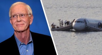 The story of the flight pilot who saved 155 passengers by landing the plane in the middle of a river