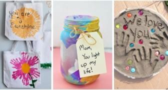 10 adorabili lavoretti per la Festa della Mamma da fare con i bambini