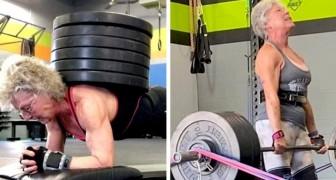 Ha 71 anni ed è campionessa di sollevamento pesi: questa donna è l'esempio che non esiste età per fare grandi cose