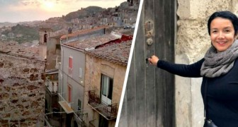 An American woman buys a house in Sicily for 1 euro and ends up buying three more for her children