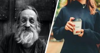 Une passante offre du thé à un sans-abri, mais celui-ci préfère le café : son refus déclenche une polémique sur les réseaux sociaux