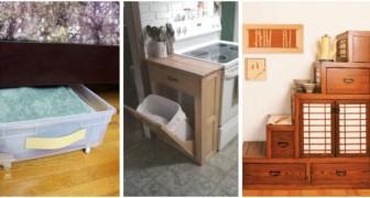 Petite maison ? Utilisez tout l'espace disposition avec ces 9 solution DIY vraiment pratiques