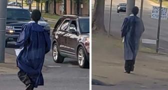 Hij stond elke dag om 4 uur 's ochtends op om met de bus naar school te gaan: een vip geeft hem een auto