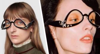 Gucci mette in vendita i suoi occhiali al rovescio: l'accessorio che confonde il web