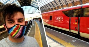 Le ferrovie inglesi eliminano il signore e signori dopo la protesta di un passeggero non binario