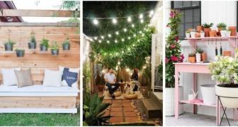 Rendi il tuo giardino più confortevole con questi progetti fai-da-te belli e utili