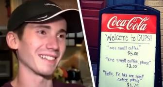 J'en ai assez des gens impolis : un serveur de bar offre une réduction sur le café aux clients les plus gentils