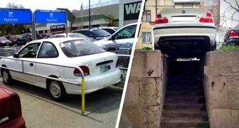 Ma come hai parcheggiato?: 18 persone che hanno lasciato le loro auto nei posti più assurdi