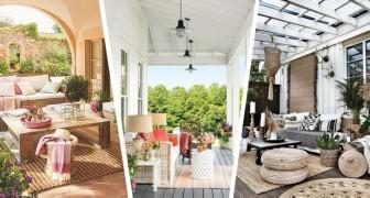 Arredare il portico: rendilo uno spazio da sogno con queste idee strepitose