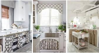 Vous voulez couvrir les angles de la cuisine ? Essayez avec des rideaux sur mesure