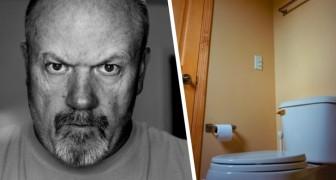Trascorre un giorno a settimana in bagno: l'azienda si lamenta del tempo che un dipendente passa nel gabinetto