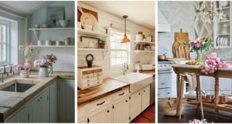 Cuisines comme dans les cottage de campagne : laissez-vous inspirer par ces splendides idées