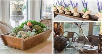 Centrotavola rustici: decora cucina e salone con fantastiche composizioni buone per tutte le stagioni