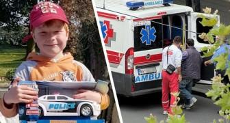 Meine Mama ist ohnmächtig: Ein 5-jähriger Junge ruft um Hilfe, ohne die Fassung zu verlieren, und rettet seiner Mutter das Leben