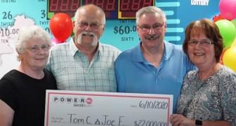 Er gewinnt 22 Millionen Dollar im Lotto und teilt sie mit seinem besten Freund: 30 Jahre zuvor hatten sie sich gegenseitig ein Versprechen gegeben